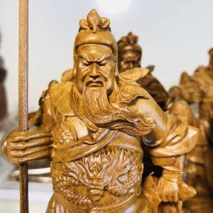 Tượng Quan Công - Khổng Minh